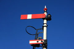 Railway signal Stock Photos