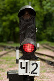 Railway signal Royalty Free Stock Images