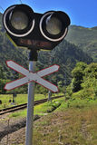 Railway Signal Royalty Free Stock Photography