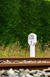 Railway signal. Stock Photo