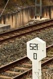 Railway signal. Stock Image