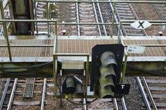 Railway signals. Stock Photography