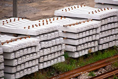 Railway sleepers Royalty Free Stock Photography