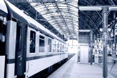 Railway station. Stock Image