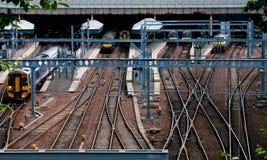 Edinburgh Railway station Royalty Free Stock Photos