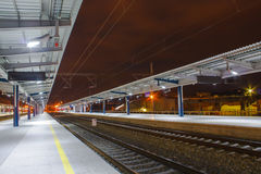 Railway station Royalty Free Stock Images