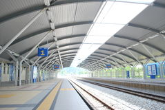 Railway Station. In Malaysia, KTM Stock Photos