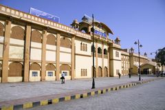Railway station, ajmer, rajasthan. India Stock Image