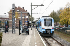Railway Station And Museum In Ede Stock Image