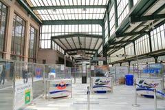 Railway station in Ankara Stock Photo