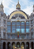 Railway station in Antwerpen Belgium Stock Photo