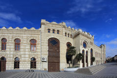 Railway station in Baku, Azerbaijan Stock Photography