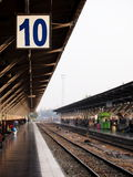 Railway station in Bangkok Thailand Royalty Free Stock Photos