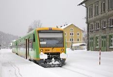 Railway station in Bayerisch Eisenstein. Bavaria. Germany Stock Images