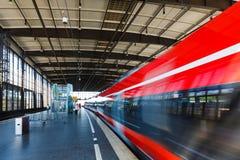 Railway station in Berlin Stock Image