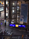 Railway station Berlin from inside. Stock Image