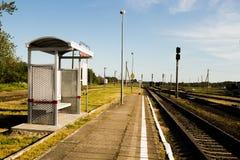 Railway station Royalty Free Stock Photos