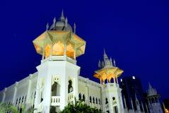 Railway Station Building. Or known as KTM at Kuala Lumpur, Malaysia Royalty Free Stock Photos