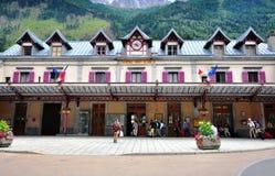 Railway station of Chamonix, France Royalty Free Stock Photo