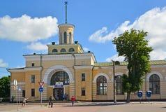 The railway station in the city of Berdichev, Ukraine royalty free stock photo