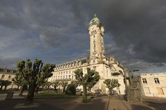 Railway station of the city of Limoges city. Stock Photos