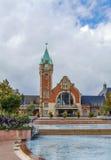 Railway station, Colmar, France Stock Image