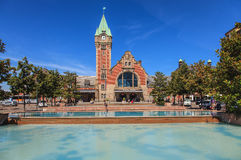 Railway station in Colmar, France Royalty Free Stock Photo