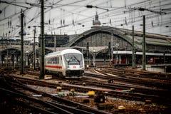 Railway Station, Cologne, Train Stock Photos