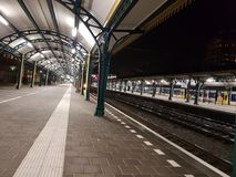 Railway station den Bosch Royalty Free Stock Image