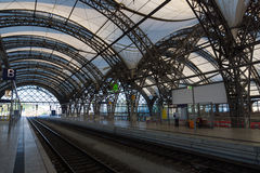 The railway station. Dresden Stock Photography