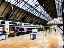 Railway station in edinburgh,scotland Stock Photos