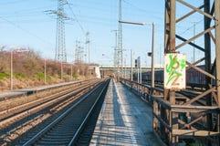 Railway station Royalty Free Stock Photo