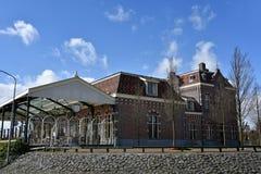 Railway station Enkhuizen Royalty Free Stock Image