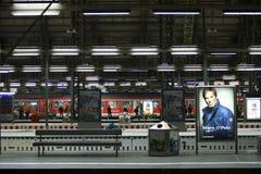 Railway station Frankfurt Stock Image