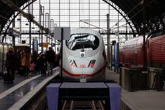 Railway station Frankfurt Royalty Free Stock Image