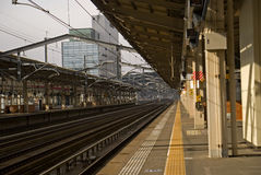 Railway station, Fukushima, Japan Stock Photography