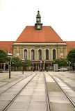 Railway station in Gorlitz. Germany.  Royalty Free Stock Photography
