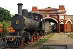 Railway Station, Granada, Nicaragua Royalty Free Stock Photos