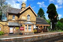 Railway station, Hampton Loade. Royalty Free Stock Photos