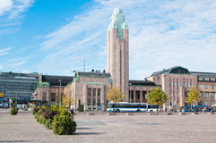Railway station in Helsinki Stock Photography