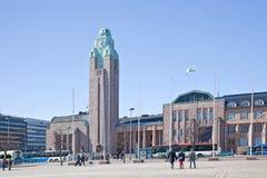 Railway station. Helsinki Stock Photos