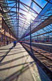 Railway station in Helsinki Finland Royalty Free Stock Images