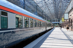 Railway station in Helsinki Stock Photos
