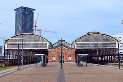 The railway station Hollands Spoor Royalty Free Stock Image