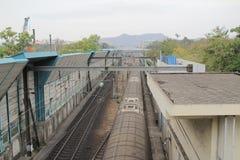 Railway station in hong kong Royalty Free Stock Image