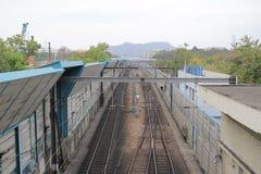 Railway station in hong kong Royalty Free Stock Photos