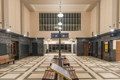 Free Railway Station In The City Of Zagan. Royalty Free Stock Images - 151069859