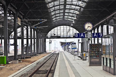 Railway Station In Wiesbaden Stock Image