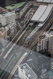 A railway station in Japan Royalty Free Stock Image