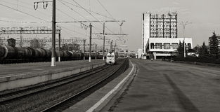 Railway station, Lipetsk. Stock Photos